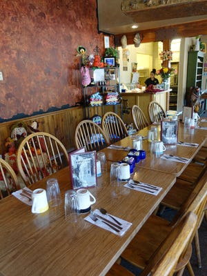 Locals and tourists flock to the Running Bear Pancake House year-round.