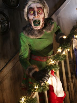 Evil elves and other twisted Christmas characters will scare visitors to Terror on the Fox's Krampus: A Haunted Christmas.