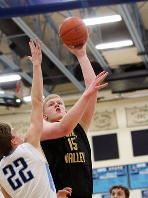 Paint Valley's Dylan Swingle is the only Division I NCAA men's basketball commit in the area. This season, Swingle is averaging 26 points and 15.3 rebounds per game.
