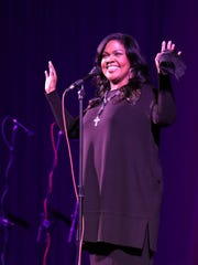 Grammy winning singer CeCe Winans performed at Lane