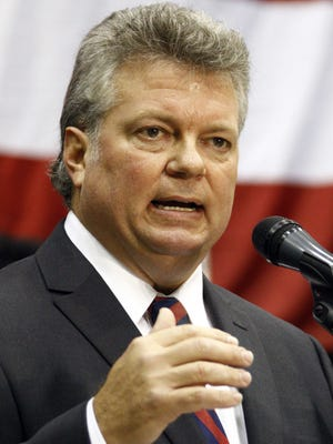 Mississippi Attorney General Jim Hood.delivered a $34.4 million settlement to the state on Thursday.