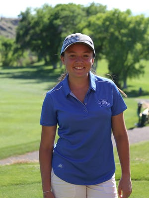 Dixie's Gracie Richens started golfing when she was nine years old. She played in her first tournament that year (JAG) after she was bribed with a candy bar to play. Now she's headed to BYU.