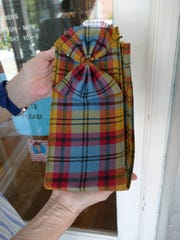 The Scottish Tartan Museum in Franklin now officially carries merchandise boasting the town of Franklin's official tartan.