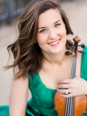 Celeste Golden Boyer is the new concertmaster of the Cincinnati Chamber Orchestra