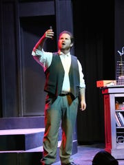 "Taylor Williams in The Stage Door's production of ""Jekyll & Hyde."""