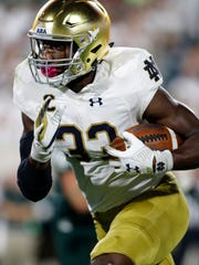 Notre Dame's Josh Adams has burst into Heisman Trophy