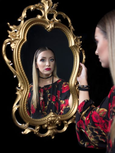 Mirror, mirror hanging on the wall. Who sis the fairest