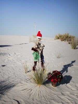 Festive Discovery Day, a free stewardship celebration, will take place Thursday, Dec. 21 at White Sands National Monument Visitor Center.
