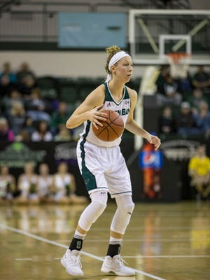 UWGB guard Allie LeClaire had 15 points against Bradley on Saturday.