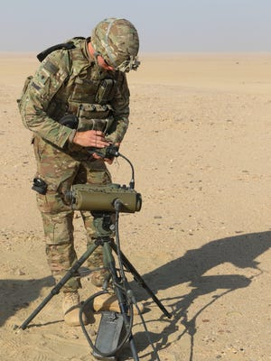 Soldiers with the 4th Battalion, 27th Field Artillery Regiment and 1st Battalion, 35th Armored Regiment conduct a semi-annual mortar exercise to evaluate and certify crews and to build combat power.
