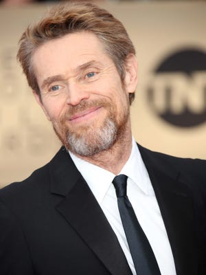 Willem Dafoe arrives at the 24th annual Screen Actors Guild Awards at the Shrine Auditorium.