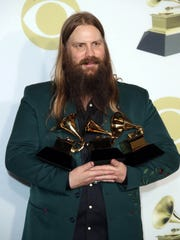 Chris Stapleton in the press room during the 60th Annual
