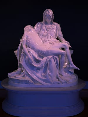 A rare casting of Michelangelo's masterpiece Pietà is now part of Dixie State University Sears Art Museum Gallery's permanent collection thanks to a generous donation.