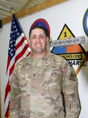 Staff Sgt. Mario Ochoa is the operations sergeant for