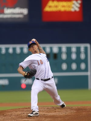 Sinton's Anthony Banda pitches for the Durham Bulls in Triple-A.