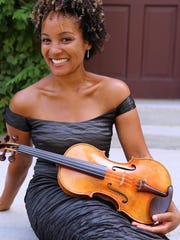 Lansing native, violinist Melissa White, will solo in the opening Masterworks Series concerts on Oct. 18.