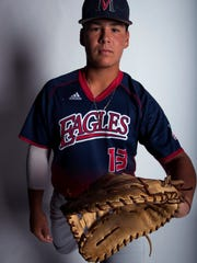 All-South Texas Newcomer of the Year Daylan Pena, Veterans Memorial High School.