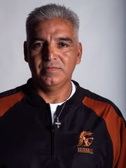 All-South Texas Coach of the Year Beeville baseball coach Richard Vasquez.
