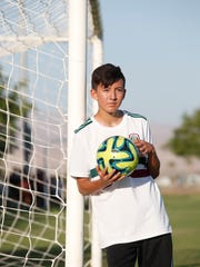 Adriel Sanchez tried out for and made it into the Barca