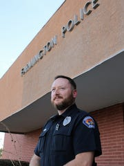 Officer Robert Decker is one of four members of the Farmington Police Department's Crisis Intervention Team, which works with individuals with mental illness and/or substance abuse issues who display the potential to do harm to themselves or others.