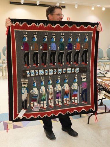 This year's Navajo Rug Benefit Auction at the Farmington