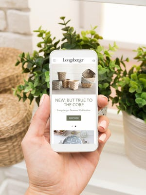 Longaberger relaunched this summer as an online retailer focusing on a variety of handmade products in addition to baskets.