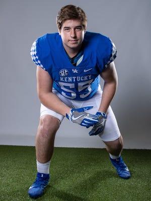 David Wohlabaugh is a University of Kentucky football recruit.