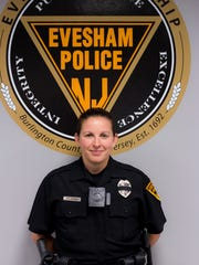 The Evesham Township Police Department is one of the first in the state to outfit its officers with body cameras.