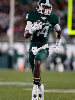 Tony Lippett's 5-yard touchdown pass to tight end Andrew Gleichert accounted for MSU's lone offensive score against Purdue last year.