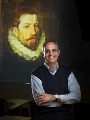"Dr. Ricardo De Mambro Santos, associate professor of art history at Willamette University, rediscovered Peter Paul Rubens' ""Portrait of Archduke Albert VII."" The piece will be on exhibit at Hallie Ford Museum of Art from Oct. through March. The exhibit's exact dates are pending."