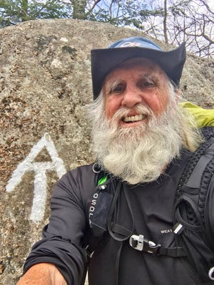 Bartlett's Dale Sanders, 81, is hiking the Appalachian Trail. He turns 82 on June 14.  If he completes the entire trail, he will become the oldest person to ever hike the trail in the same year.