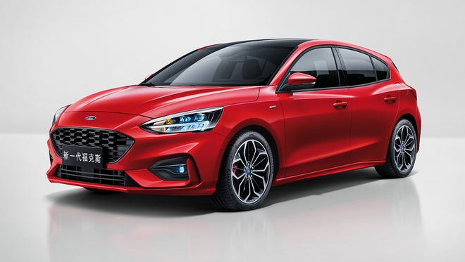 Ford today introduces the all-new Focus car for global customers.