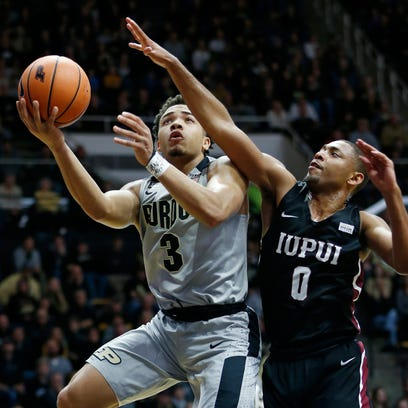 Carsen Edwards' big night carries Purdue past IUPUI