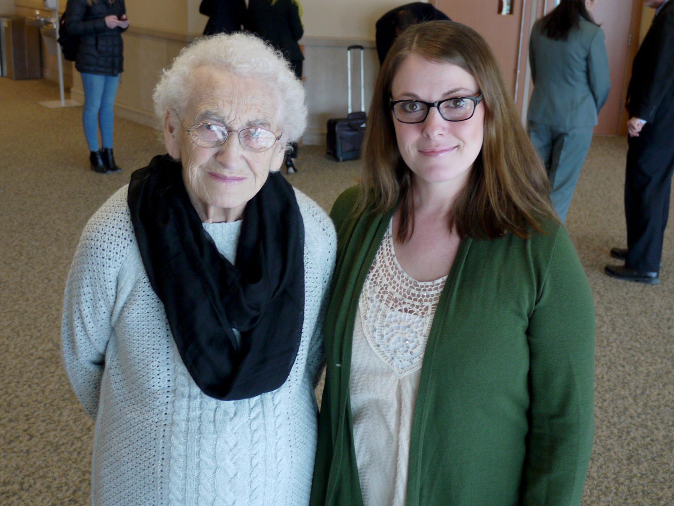 Rose Beranek and Desiree Burke, the mother and daughter