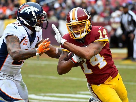 Washington Redskins wide receiver Ryan Grant (14)