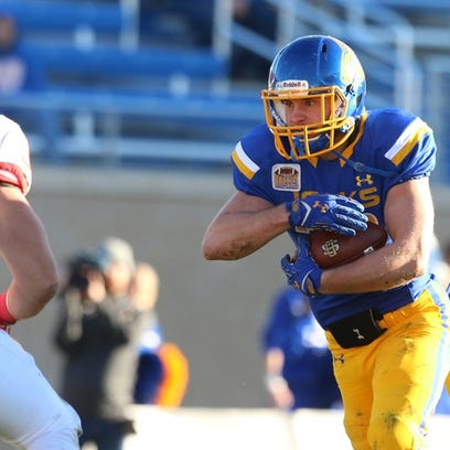 Kyle Paris rushed for 428 yards and six TDs for SDSU last year