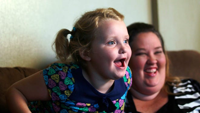 Honey Boo Boo and Mama June in 2012.