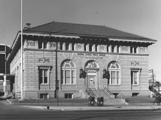 The Fort Collins Post Office at 201 S. College Ave. in 1977.