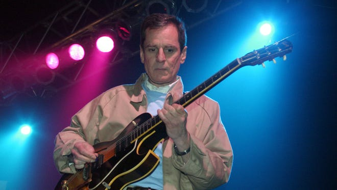 Alex Chilton of Big Star performs at the South by Southwest Music Festival on March 19, 2004, in Austin, Texas. Chilton, who topped the charts as a teen and later became a cult hero with the band Big Star, died March 17, 2010. He was 59.