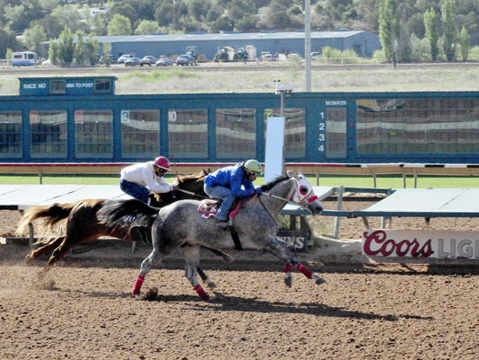 Ruidoso Downs Training Race