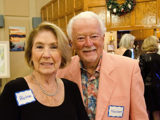 Longtime World Wings donors for SafeSpace Bette and Nelson Pfundt.