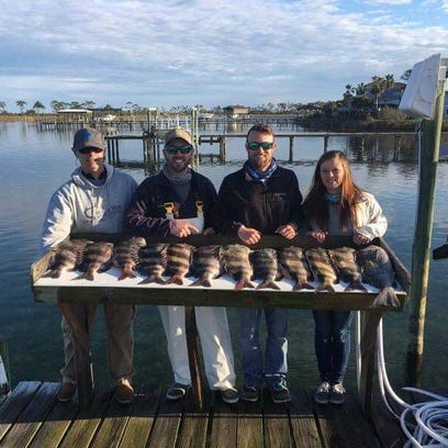 Almost time for sheepshead fishing in Pensacola Bay