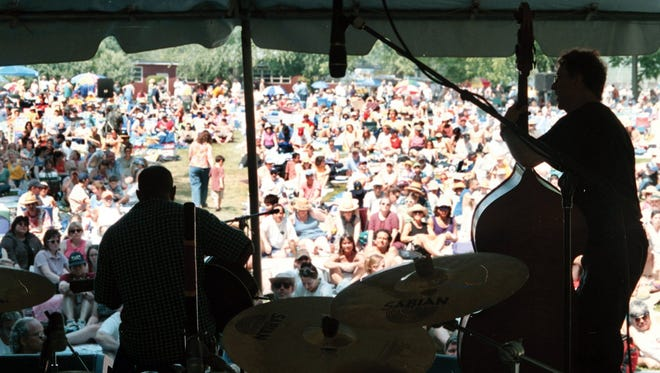 Music fans can enjoy area bands as well as sample wines from throughout the region at Appel Farm.