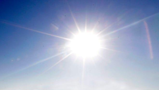 Photo illustration of the sun