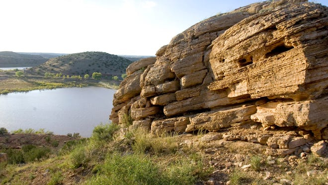 Lyman Lake State Park is located outside Springerville.