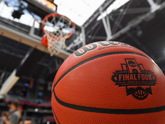 NCAA Basketball: Final Four-Practice Day