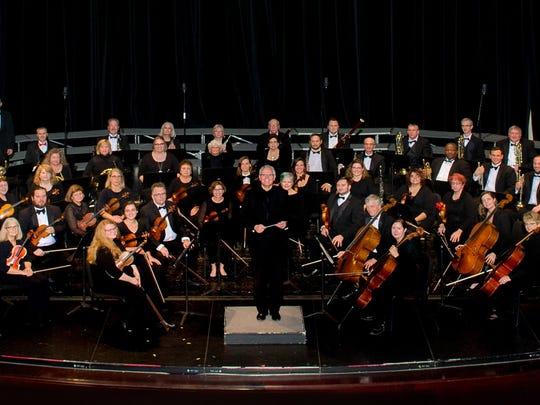 The Newark-Granville Symphony Orchestra.