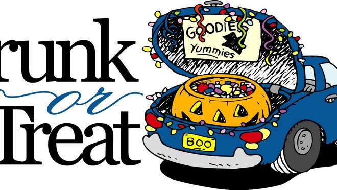 A Trunk or Treat event will be held from 4 to 6 p.m. Saturday, Oct. 24 on the Washington St. side of the square in Mount Pulaski.