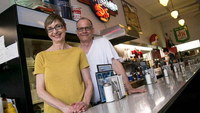 Cathy and Jim Smith are the owners of the Coney Island Diner on North Main Street in Mansfield. The couple has owned the acting establishment for the past 25 years.