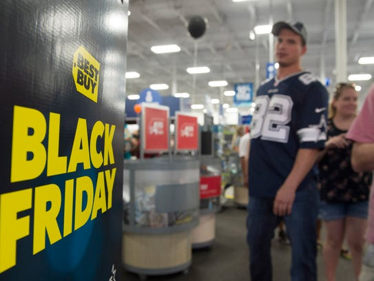 Like years past, many national retailers are starting in-store Black Friday sales on Thanksgiving.